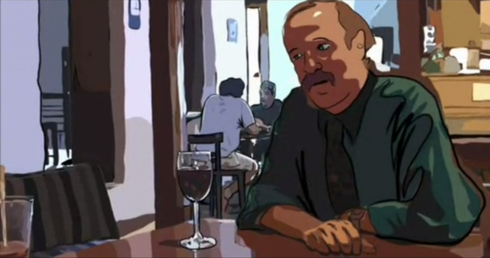 Robert Solomon in Waking Life